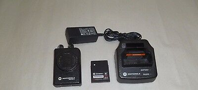 Motorola Minitor V 151-158.9 MHz VHF STORED VOICE Fire EMS Pager with Charger