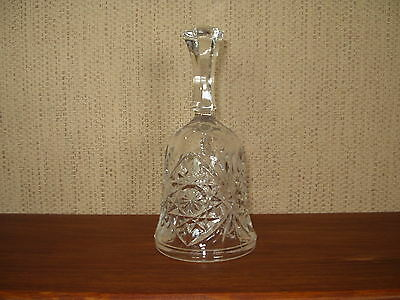 Cut Glass Crystal Decorative Bell