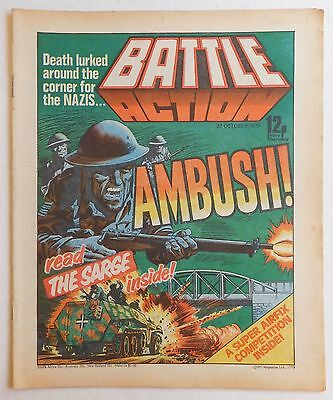 BATTLE ACTION Comic - 27th October 1979