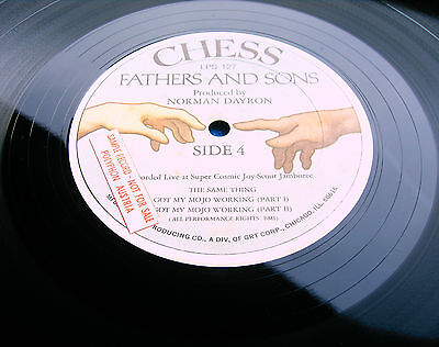 FATHERS AND SONS 1st US PROMO *CHESS* MEGA RARE BLUES~MUDDY WATERS~BLOOMFIELD!!!