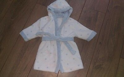 boys 6-9 months dressing gown mothercare