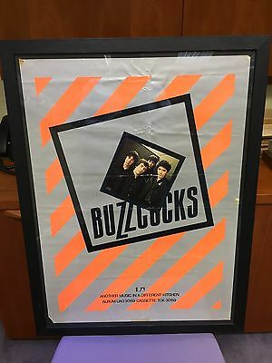 Buzzcocks Another Music Original 1978 Framed Promo Poster