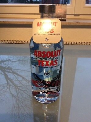 Absolut Vodka Texas City Edition 750 ml full and sealed