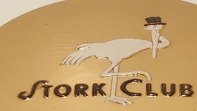 Antique Stork Club Compact w/ Puff excellent condition COLLECTOR'S