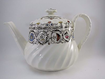 "Spode FLORENCE Teapot 4 Cup 6"" T Vintage Porcelain China Copeland England"