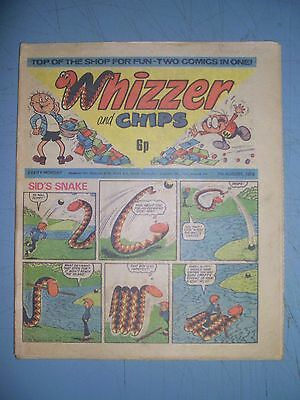 Whizzer and Chips issue dated August 7 1976
