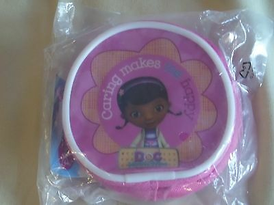 Disney Doc Mcstuffin Character Coin Bag Purse Wallet Brand New Gift