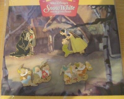 Disney's Snow White and the Seven Dwarfs Booster Set- New + Sealed
