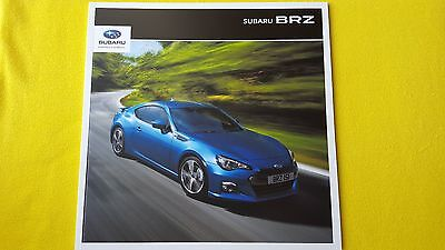 Subaru BRZ Coupe SE Lux 2.0 official paper brochure catalogue 2016 MINT BR Z
