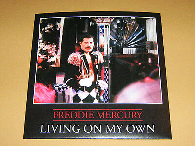 Lot of 5 x FREDDIE MERCURY & QUEEN-  Rare 45 rpm PICTURE FAN SLEEVES