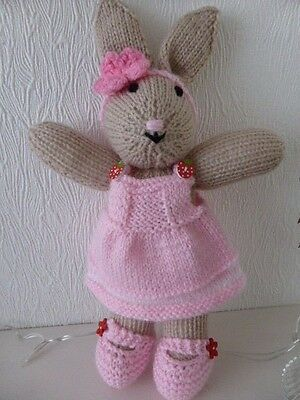 Hand Knitted Toy Bunny Rabbit