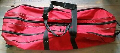 Leon Paul Wheeled Fencing Bag, Red