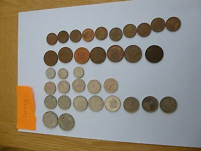 Jersey Coin Collection 1913 - 1998 Rare 1/24th shilling