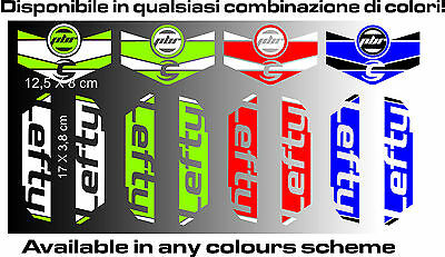 LEFTY cannondale ADESIVI stickers aufkleber autocollant WELCOME INTERN. BUYERS