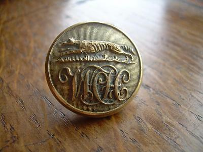 Vintage Hunt Button: Whaddon Chace Hunt