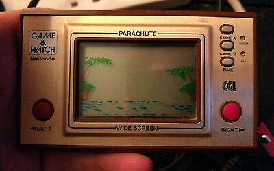 Nintendo Game And Watch, Parachute, VGC, Retro, Vintage,Rare, Full working order