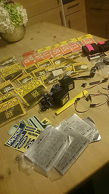 Large Collection of RC Items , Instrument Stickers, New Packets of items LOOK