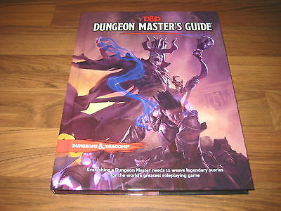 D&D 5th Edition Dungeon Master's Guide HC Core Rulebook WotC 2014 TRPG Neu New