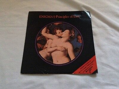 """Enigma-Principles Of Lust/Sadness Part 1 7"""" Single.1991 Virgin DINS 110.New Age."""