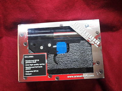 ARES Amoeba 3rd Gen EFCS (Mosfet) Complete V2 Gearbox M Series AEG Airsoft Rear