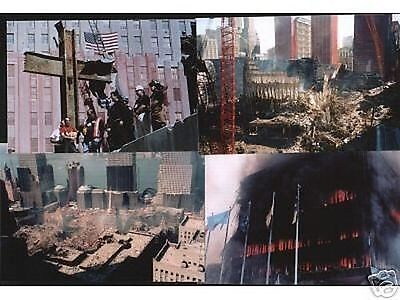 LG COLLECTION of REAL 9-11 PHOTOS! 4 x 6 MOST UNPUBLISHED & RARE! WE WERE THERE!