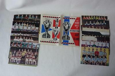 Full Set Of D.c. Thompson -  Hornet International Cup Teams With Wallet 1964