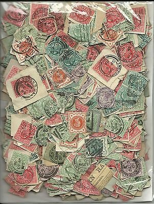 Gb - Qv & E7 - Over 1000 Stamps, Unsorted Early Gb Low Values, (See Below)