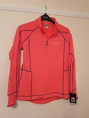 Avalanche Neon Base Layer Top, Fleece Lined, Large