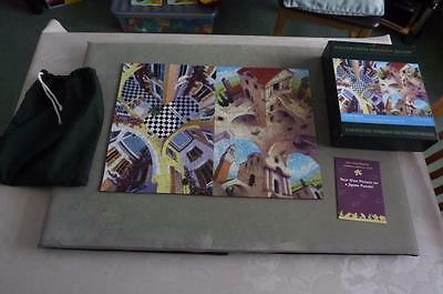 """Wentworth Wooden Jigsaw  """"  A Double Illusion  """"  By Irvine Peacock  500 Pieces"""