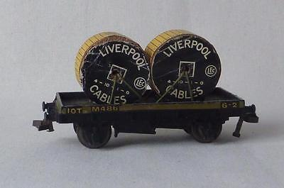 Hornby Dublo  Liverpool Cables Low Sided Wagon Oo Gauge