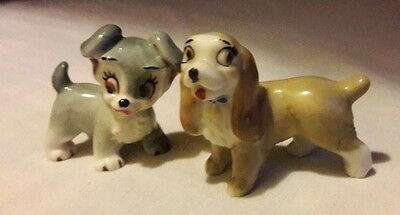Wade porcelain dogs