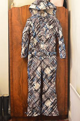 Ladies The North Face Cryptic Recco Ski Suit Size S VGC