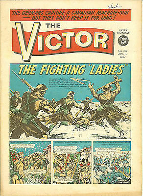 The Victor 319 (Apr 1, 1967) another very high grade copy