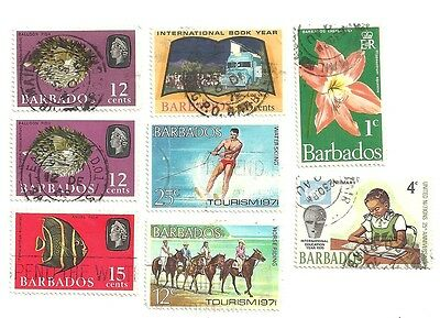 BARBADOS stamps collection (Used)