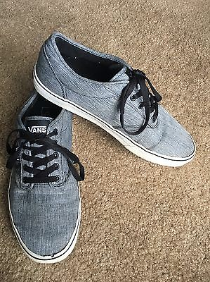 VANS Gray Shoes Sneakers Skateboard SIZE 10.5 Men's