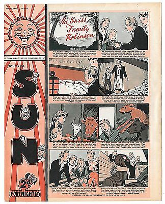 SUN No 2 (25th Nov 1947 fault free) Sherwood Outlaw - Soccer Tips with Jack Bray