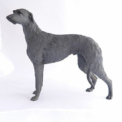 Scottish Deerhound Vintage North Light Dog Figurine Ornament