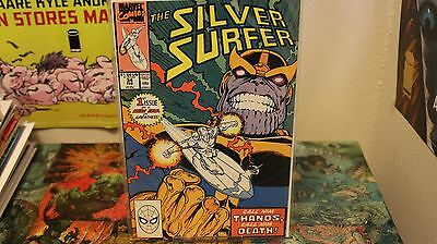 Silver Surfer 34 NM Key comic Thanos is back CGC worthy