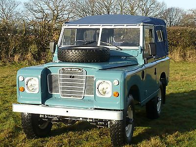 LAND ROVER SERIES 3 SOFTTOP 88in TAX EXCEMPT (full rebuild )