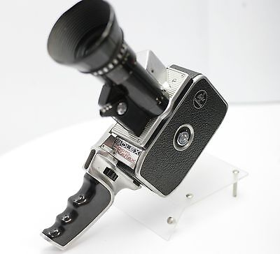 For Display Paillard Bolex Zoom Reflex P1 8mm Movie Camera Pan-Cinor 8-40mm F1.9