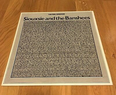 """Siouxsie And The Banshees Peel Sessions 12"""" EP UK1987 NrMINT Slits Cure Magazine"""
