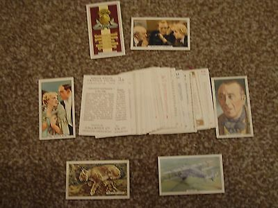 Mixed Lot Of 35 Gallacher Cigarette Cards - Mint