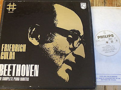 FXS 2000 Beethoven The Complete Piano Sonatas / Gulda 11 LP box