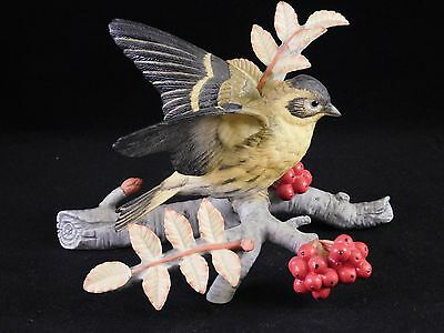 Franklin Mint: Limited Edition Royal Society for the Protection of Birds -Siskin