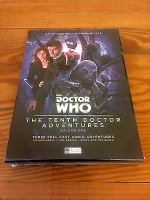 Doctor Who TENTH DR ADVENTURES Special Limited Edition Box Set TENNANT Tate NEW