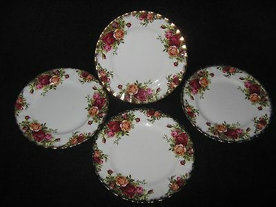 Royal Albert  Country Rose  Side Plates x4