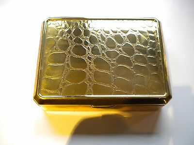brass cigarette box Markovitch black & white