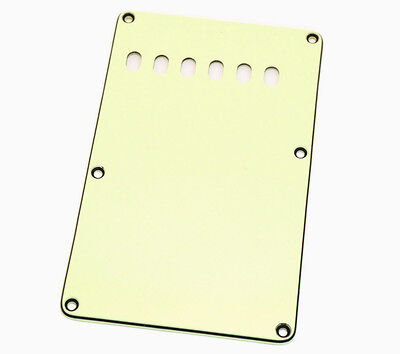 Mint 3-ply Back Plate/Tremolo Cover for Fender Stratocaster/Strat® PG-0556-024
