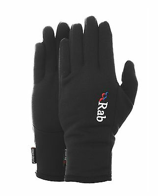 Rab Mens Powerstretch Pro Gloves 4 Way Stretch Black