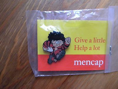 charity pin badge - Dennis the Menace - see photo